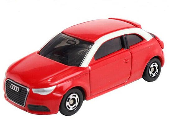 1:60 Scale Red NO.111 Kids Diecast Audi A1 Toy