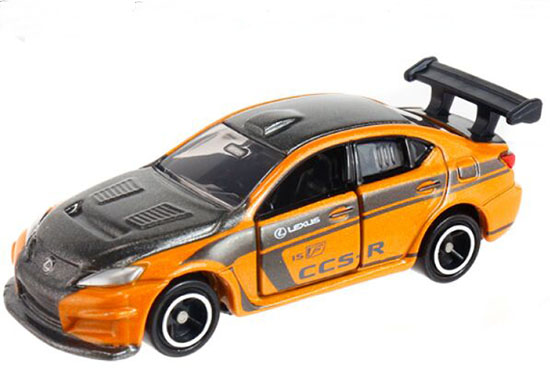 1:66 Scale Yellow NO.107 Kids Diecast Lexus IS F CCS-R Toy