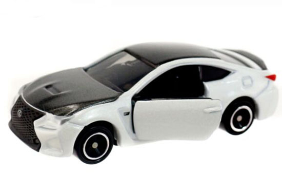 1:59 White-Black NO.13 Kids Diecast Lexus RC F Toy