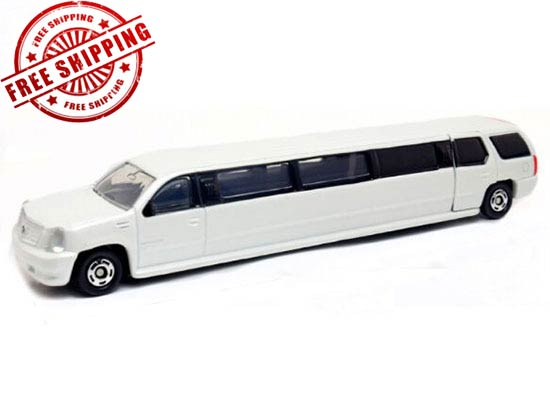 Kids 1:79 Scale White NO.136 Diecast Cadillac Escalade Toy