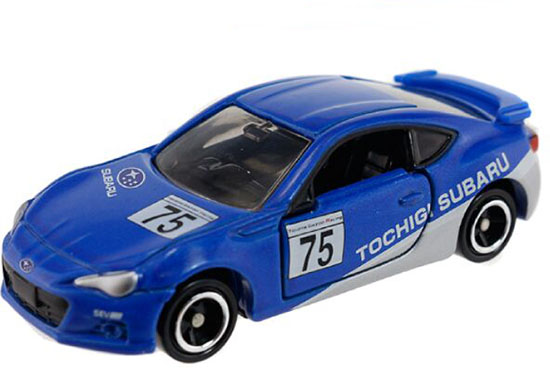 Kids Mini Scale Blue Diecast Subaru BRZ Toy