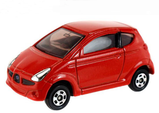 Kids 1:56 Scale Red NO.111 Tomy Tomica Diecast Subaru R1 Toy