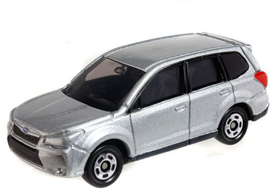 Silver 1:65 Scale Kids NO.112 Diecast Subaru Forester Toy