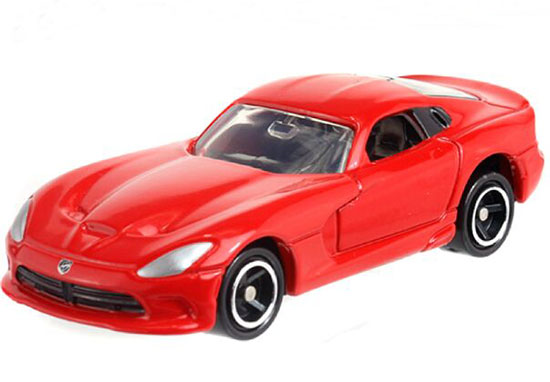 Red 1:64 Kids NO.11 Diecast Dodge SRT VIPER GTS Toy