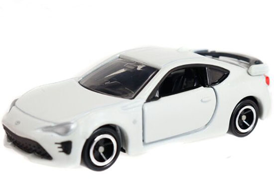 Kids White 1:60 Scale NO.86 Diecast Toyota 86 Toy