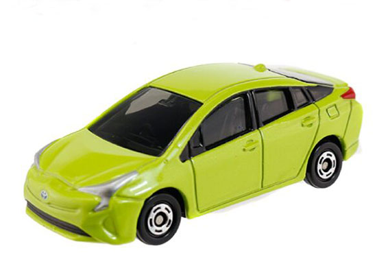 Green 1:65 Scale Kids NO.50 Diecast Toyota Prius Toy