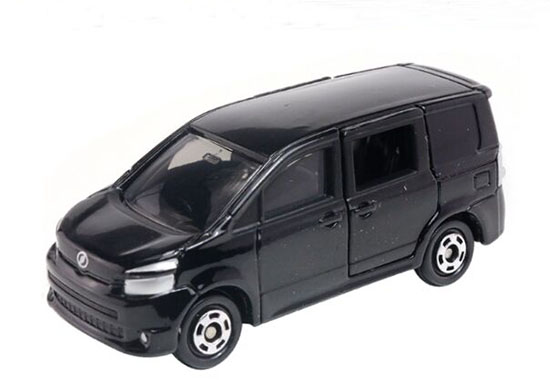 Black 1:67 Scale Kids NO.107 Diecast Toyota Voxy Toy