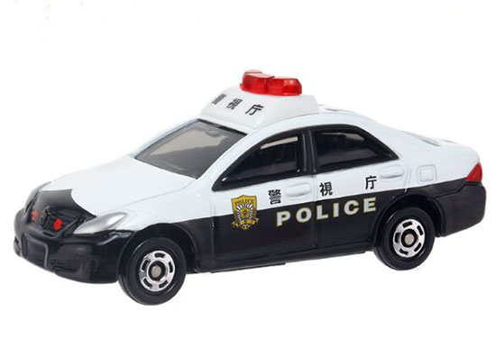 Black-White Kids NO.110 Diecast Toyota Crown Patrol Car Toy