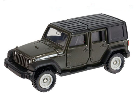 1:65 Scale Kids Tomy Tomica NO.80 Diecast Jeep Wrangler Toy