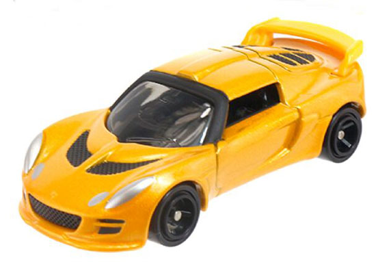 1:56 Scale Yellow NO.50 Kids Diecast Lotus Exige S Toy