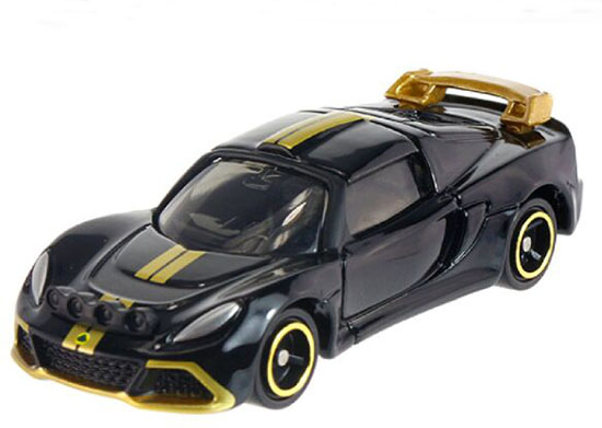 Black 1:59 Scale NO.10 Kids Diecast Lotus Exige R-GT Toy