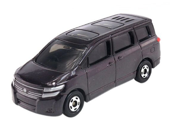 1:64 Scale Kids NO.88 Diecast Nissan Elgrand Toy