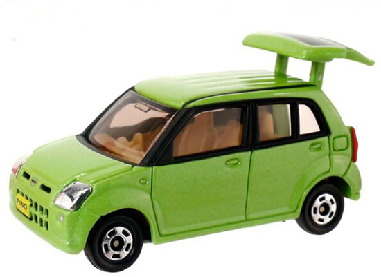 1:57 Scale Green Kids NO.8 Diecast Nissan Pino Toy