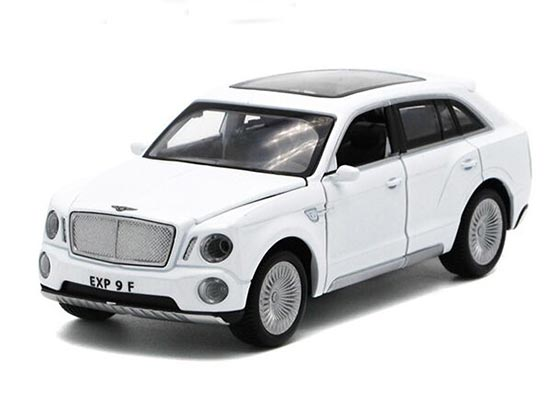 1:32 Kids Red / Blue / White / Black Diecast Bentley EXP 9F Toy