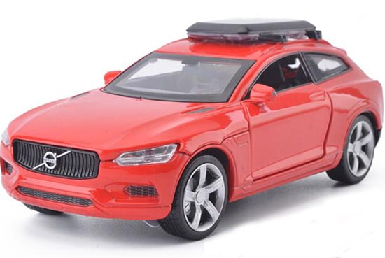 Kids Red / Blue / Yellow / White Diecast Volvo XC Coupe Toy