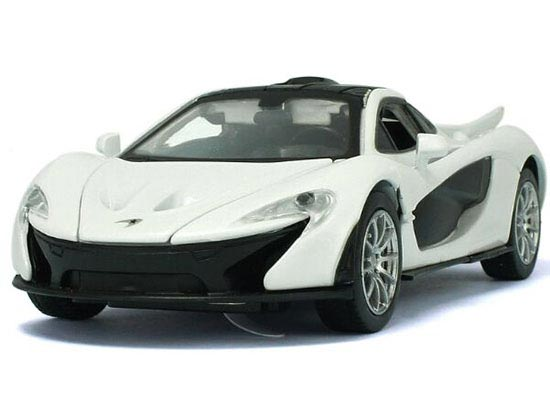 Green / White / Yellow 1:32 Scale Diecast McLaren P1 Toy