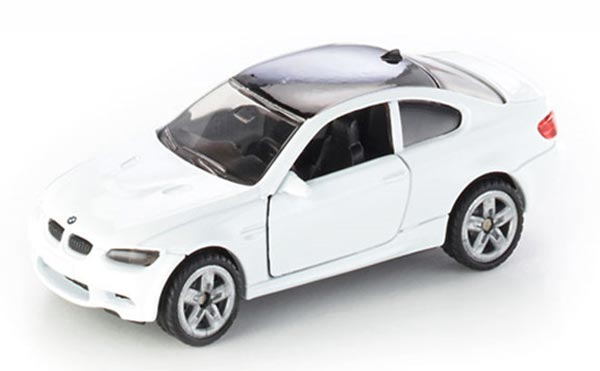 Mini Scale Kids White SIKU 1450 Diecast BMW M3 Coupe Toy
