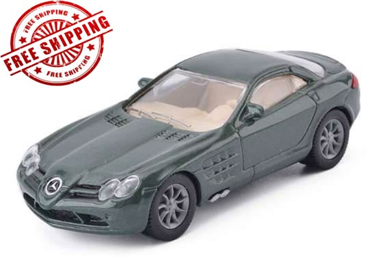 Kids SIKU 1004 Green Diecast Mercedes-Benz SLR McLaren Toy