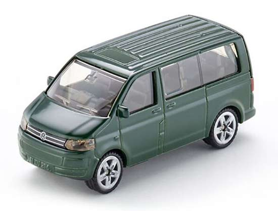 Green Mini Scale Kids SIKU 1070 Diecast VW Fourgon Toy