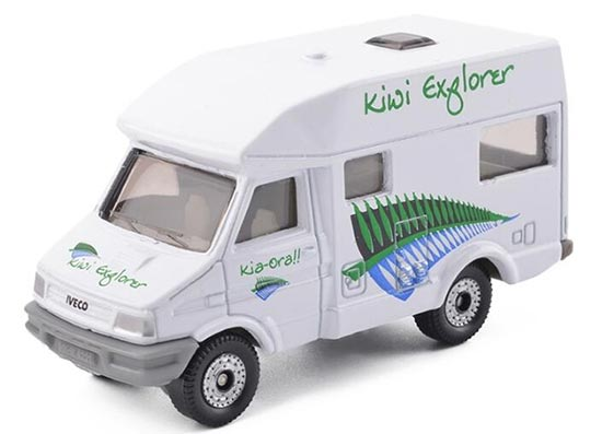 Kids White Mini Scale SIKU 1022 Diecast Iveco Camping Car Toy