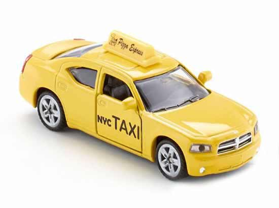 Kids Mini Scale Yellow SIKU 1490 Diecast U.S. NYC Taxi Car Toy