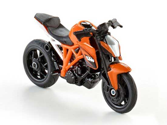 Kids SIKU 1384 Diecast KTM 1290 Super Duke R Motorcycle Toy Mode