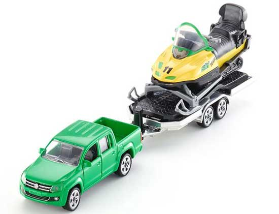 1:55 Green Kids SIKU 2548 Diecast VW Pickup Truck Toy
