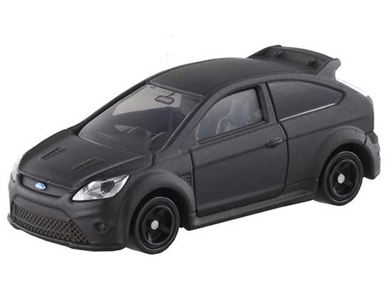 Black 1:62 Kids Tomy Tomica Diecast Ford Focus RS500 Toy