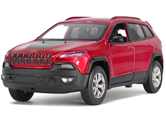 1:32 Kid Black / Silver / Red Diecast Jeep Grand Cherokee Toy
