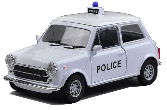 Kids 1:36 Welly Police Diecast Mini Cooper 1300 Toy
