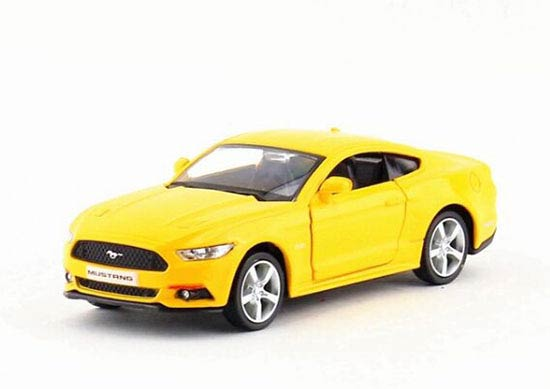 Kids Red / White / Black / Yellow Diecast Ford Mustang GT Toy