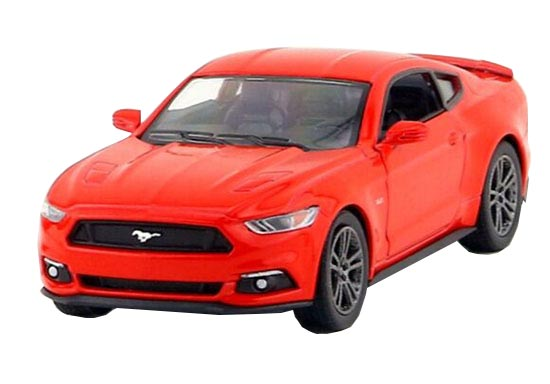 Blue / Red / Silver / Orange Kids Diecast Ford Mustang GT Toy