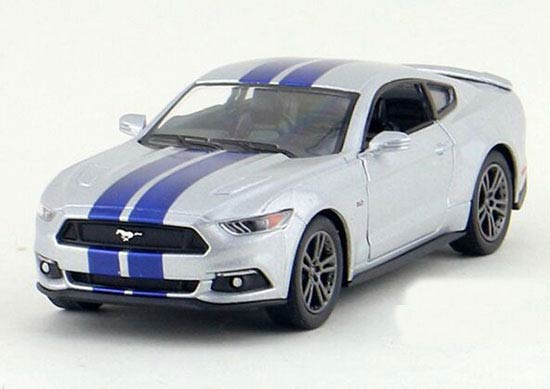 Orange / Red / Blue / Silver Kids Diecast Ford Mustang GT Toy