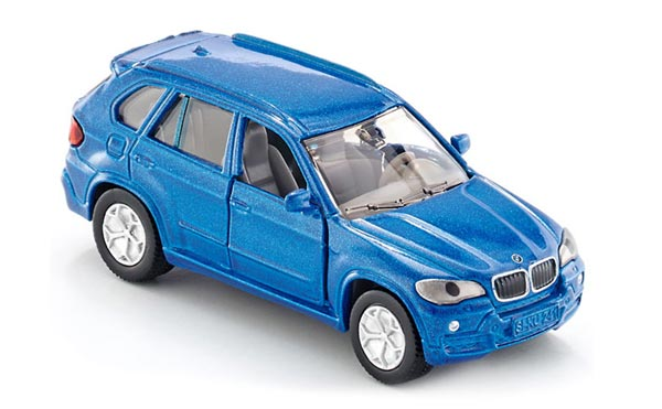 Mini Scale Blue SIKU 1432 Kids Diecast BMW X5 Toy