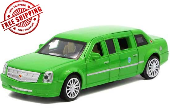 1:32 Scale Red / Blue / Black / Green Diecast Cadillac Car Toy