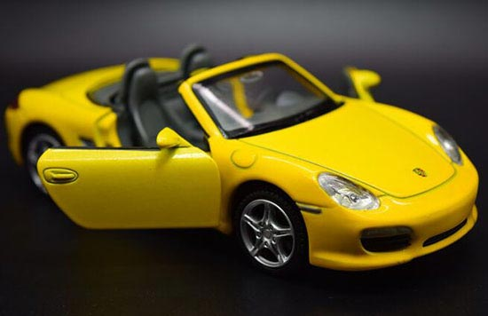 Yellow /Blue /Red Kids 1:32 Scale Diecast Porsche Boxster S Toy