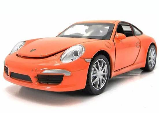 1:32 Kid Blue /Yellow /Orange Diecast Porsche 911 Carrera S Toy