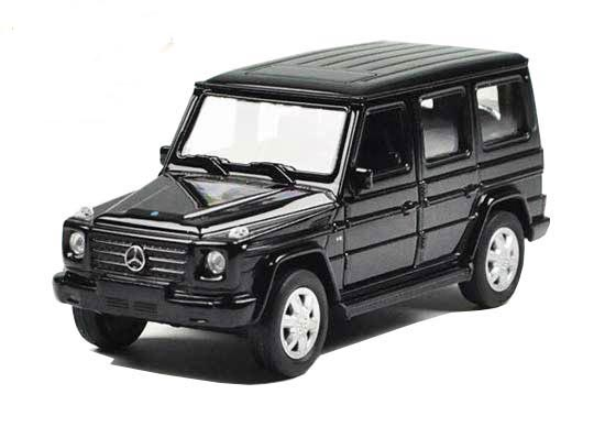 Kids Welly White / Black 1:36 Diecast Mercedes Benz G500 Toy
