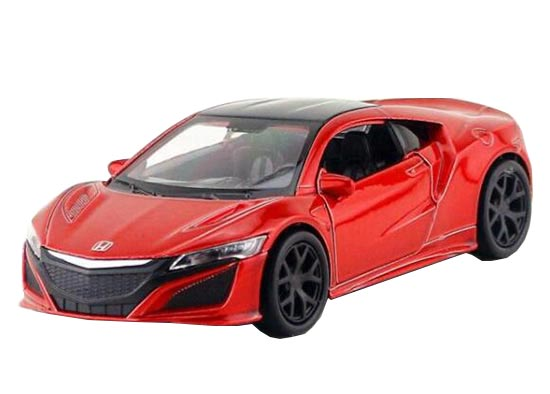 1:36 Kids Red Welly Diecast 2015 Honda Acura NSX Toy