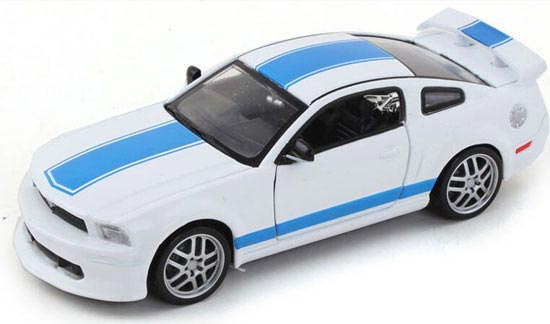 Yellow / White / Red / Orange Kids Diecast Ford Mustang GT Toy