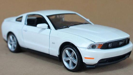 Yellow /White /Red /Blue Kids Diecast 2012 Ford Mustang GT Toy