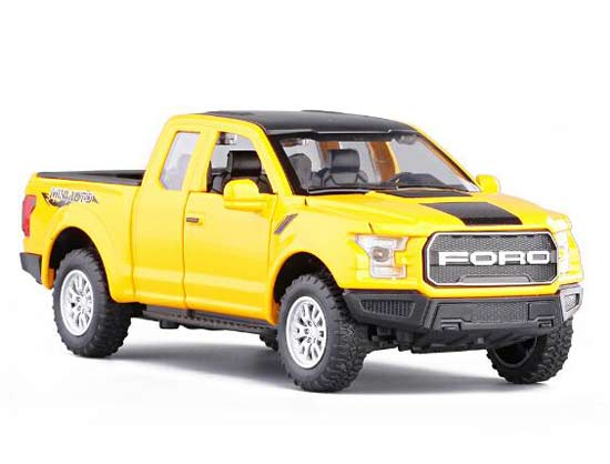 Kids Black / Red / Yellow / White Diecast Ford F-150 Pickup Toy