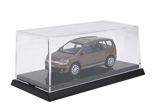 1:64 Scale Brown Diecast Volkswagen New Touran Model