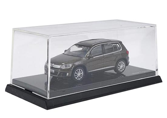 1:64 Scale Brown Diecast Volkswagen New Tiguan Model