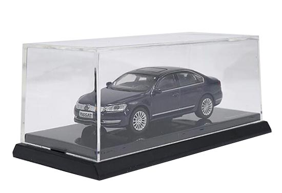 1:64 Scale Deep Blue Diecast Volkswagen Passat Model