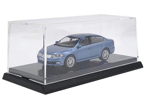 1:64 Scale Blue Diecast Volkswagen New Lavida Model