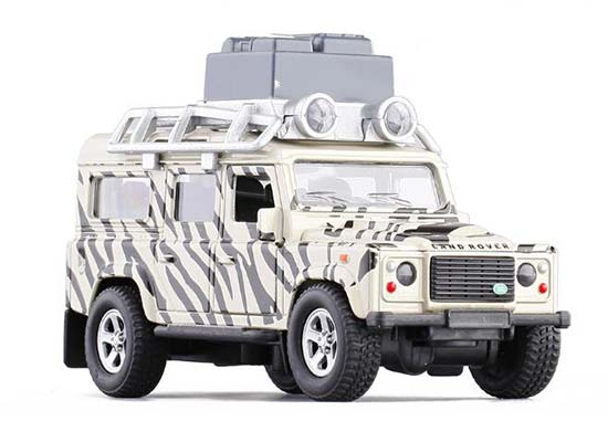 1:32 Scale Kids Camouflage Diecast Land Rover Defender Toy