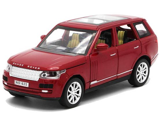 Red / Blue / Black / Golden 1:32 Scale Diecast Range Rover Toy