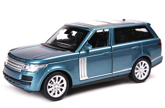 Red / White / Black / Blue 1:32 Scale Diecast Range Rover Toy