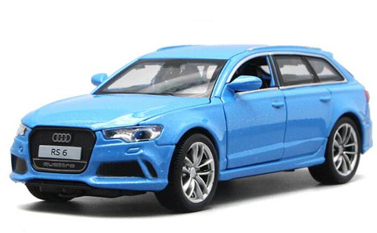 1:32 Scale Red / Yellow / Blue / White Kids Diecast Audi RS6 Toy